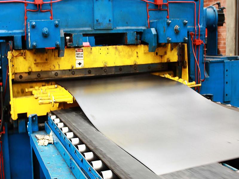 fabricación de las láminas