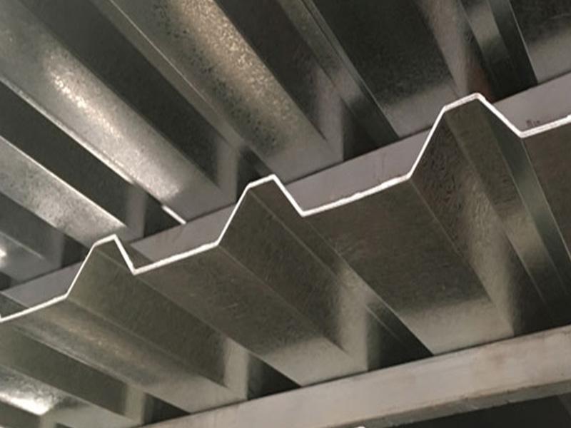 lámina galvanizada R-101