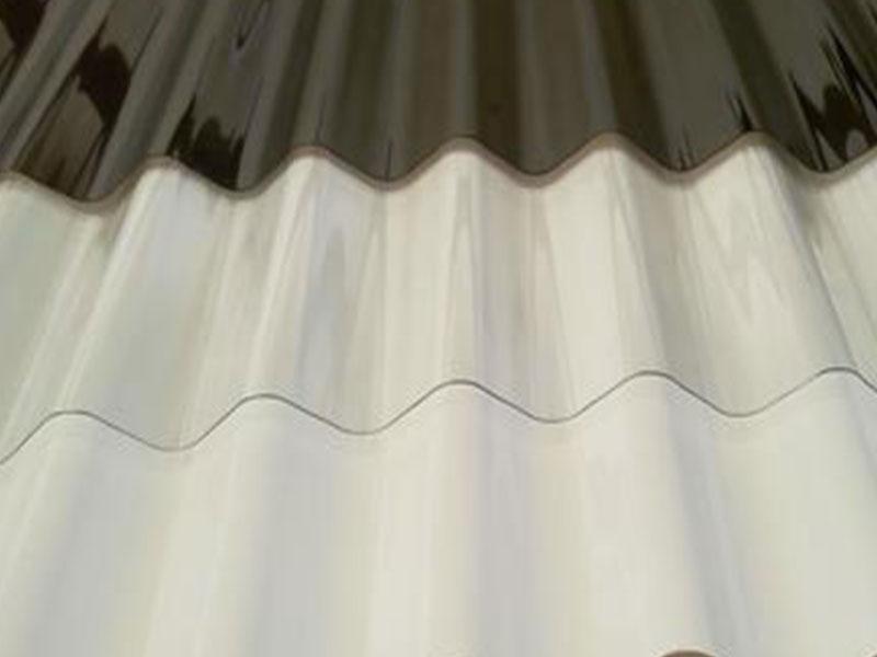 lámina de policarbonato acanalada